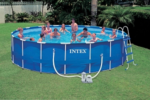56952 Каркасный бассейн Intex Metal frame Pool